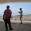 Jennifer, Mike and Kim - at shelter on Masada