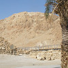 Caves in desert hills where scrolls were found