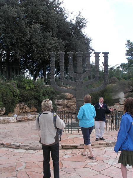 Menorah at Knesset