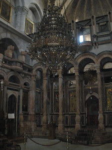 Chandlier in Church of Holy Sepulchre