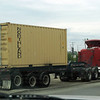 tri-axle trailer with lift axle on tractor