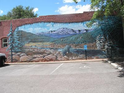 Mural in Old Colorado City