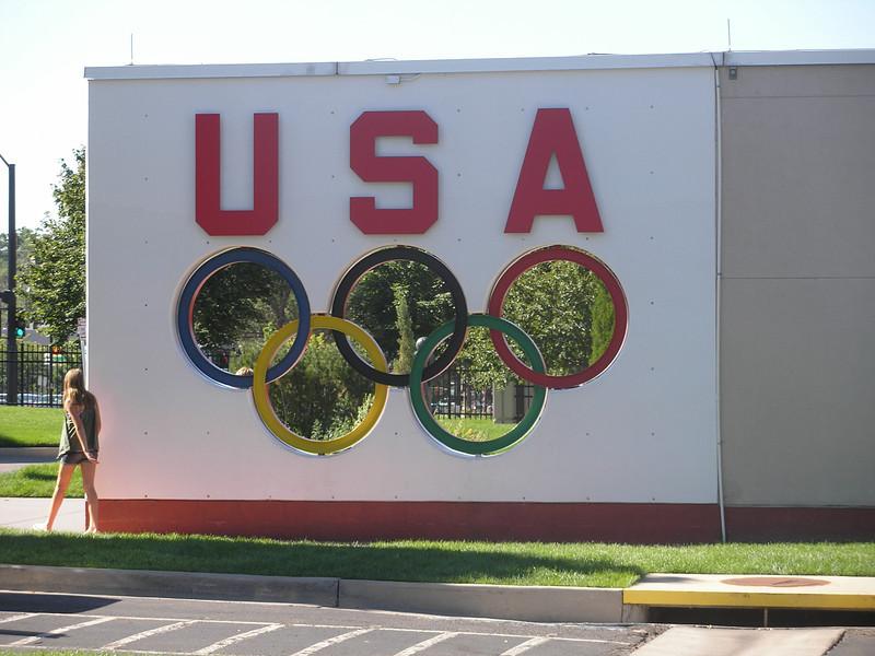 Entrance to United States Olympics Training Center