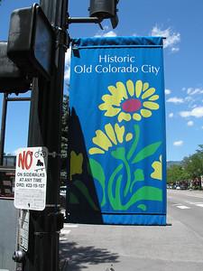 Old Colorado City shopping area