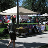 Farmers' Market and crafts in Colorado Springs park