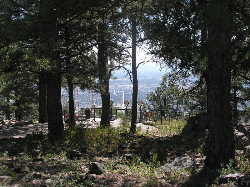 View to City of Golden from Buffalo Bill's grave