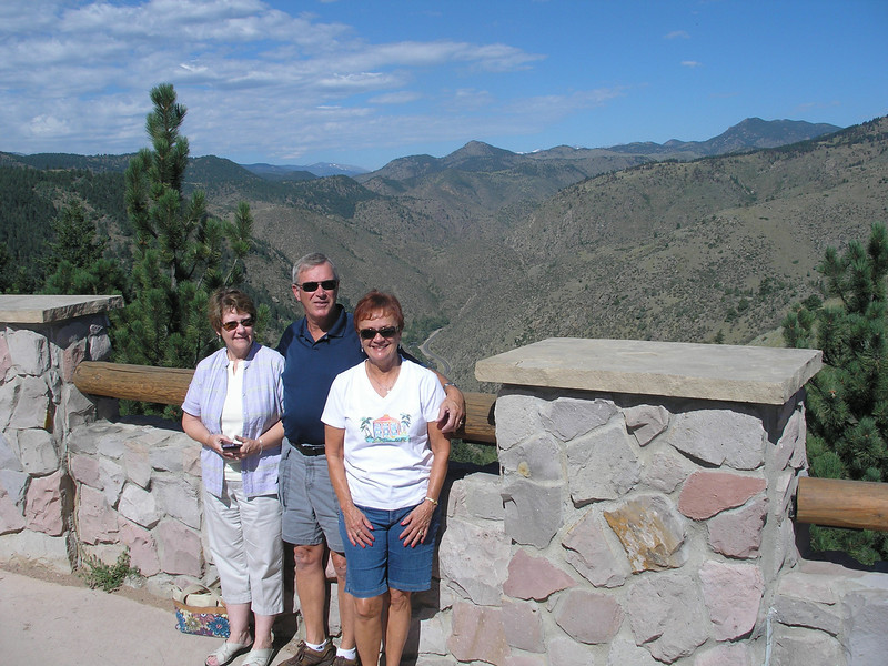Phyllis McGuire, Dwaine & Vadis En route to Lookout Mountain