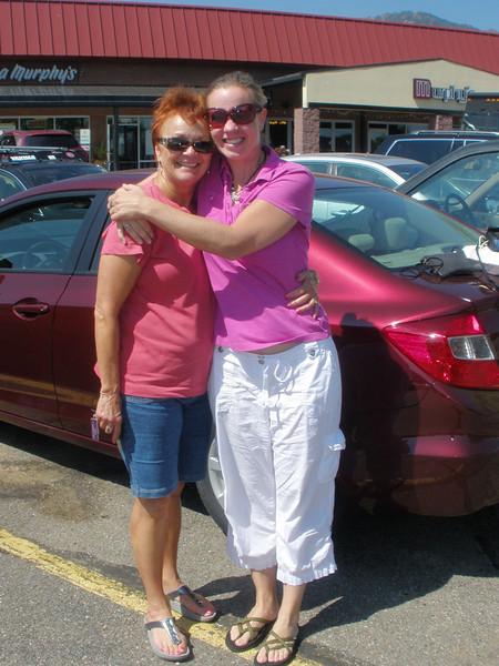 Vadis and Deb Winsor