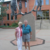 Phyllis Zimmerman and Dwaine in Loveland park