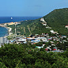 St. Maarten water desalination plant in left corner