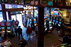 Looking down from the mezzanine to the main floor of the Midnight Star.