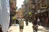 Thamel was the big shopping district in Kathmandu. There were a lot of trekking gear shops there.