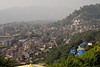 Kathmandu from Swayambhunath. I wanted to take a big panoramic from here, but due to incompetent planning on my part, my battery died, so I only got one little sliver of the city.