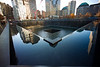 Then later in the official 9/11 memorial. This is one of two fountains in the footprint of the fallen towers. No photo does them justice, they are awe inspiring.