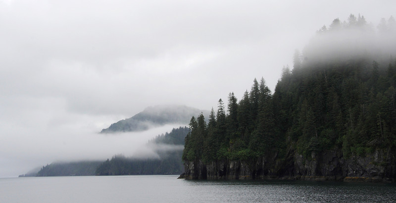 WATERVIEWS: Cloudy day on the Bay of Alaska.