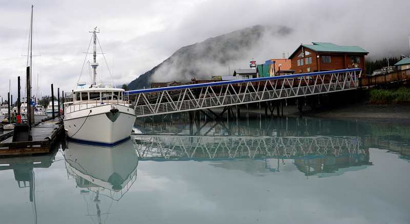 WATERVIEWS: The harbor in Seward.