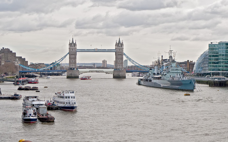 Just to prove we were there, London Bridge.