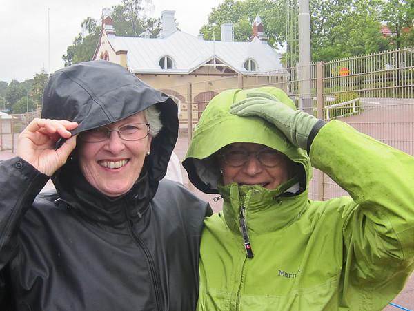 MARIEHAMN, ALAND ISLANDS, FINLAND.<br /> TAILEND OF HURICANE IRENE THAT DID MUCH DAMAGE TO EASTERN U.S ONE WEEK EARLIER.