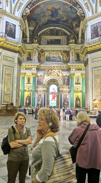 ST ISAAC'S CATHEDRAL.