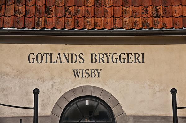 VISBY, GOTLAND  - SWEDISH ISLAND.