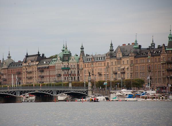 STOCKHOLM HARBOR.