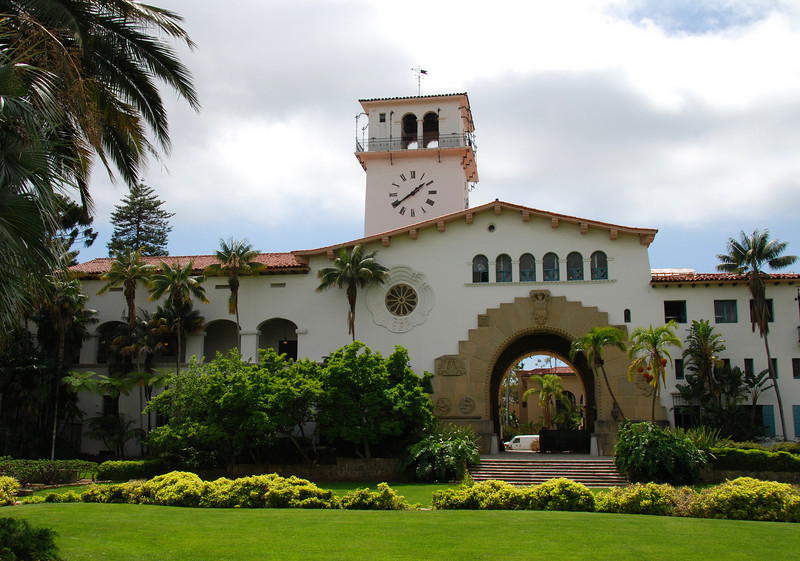 Courthouse in Santa Barbara.