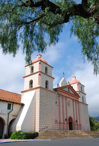 The Santa Barbara Mission.