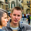 24 OCT 2011 - John, Shana, Jeff and Kristie in Florence.