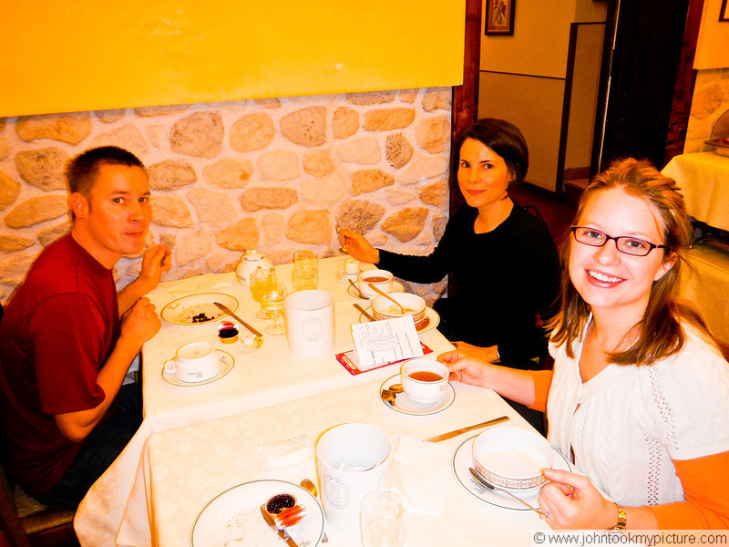 25 OCT 2011 - John, Shana, Jeff and Kristie in Florence.