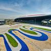 """1 NOV 2011 - Ferrari World, Abu Dhabi, UAE. <a href=""""http://en.wikipedia.org/wiki/Ferrari_World"""">http://en.wikipedia.org/wiki/Ferrari_World</a>"""