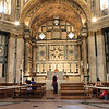 Inside the Baptistery of St. John in the Piazza del Duomo, Florence