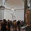 The statue of David in the Accademia Gallery, Florence