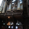Pipe Organ in Amsterdam Church.