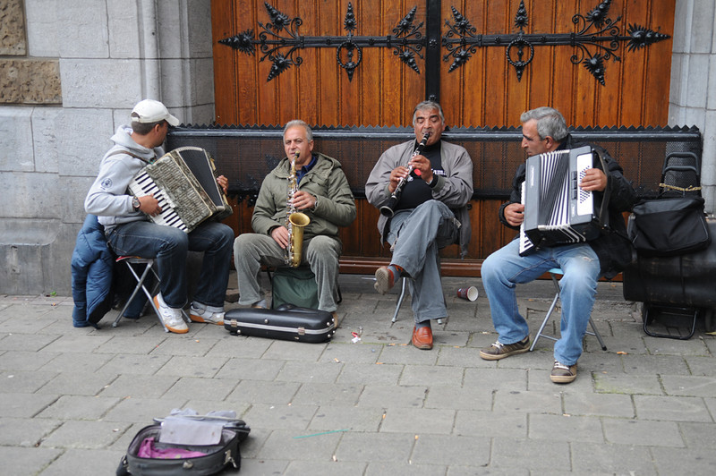 Street Musicians at Central Station.