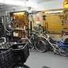 Bike shop in De Koog.
