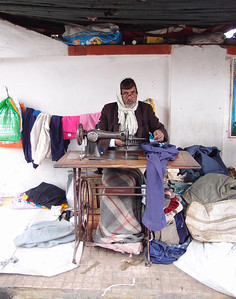 Tailor on the streets of Patna