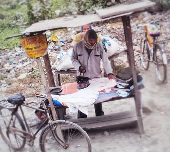 Outdoor ironing service offered in India