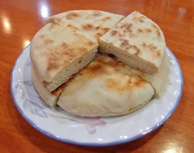Tibetan bread for breakfast