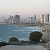 In Jaffa, looking towards Tel Aviv