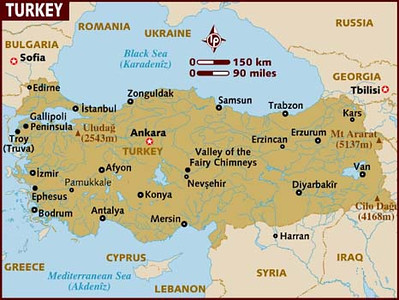 turkey map 2