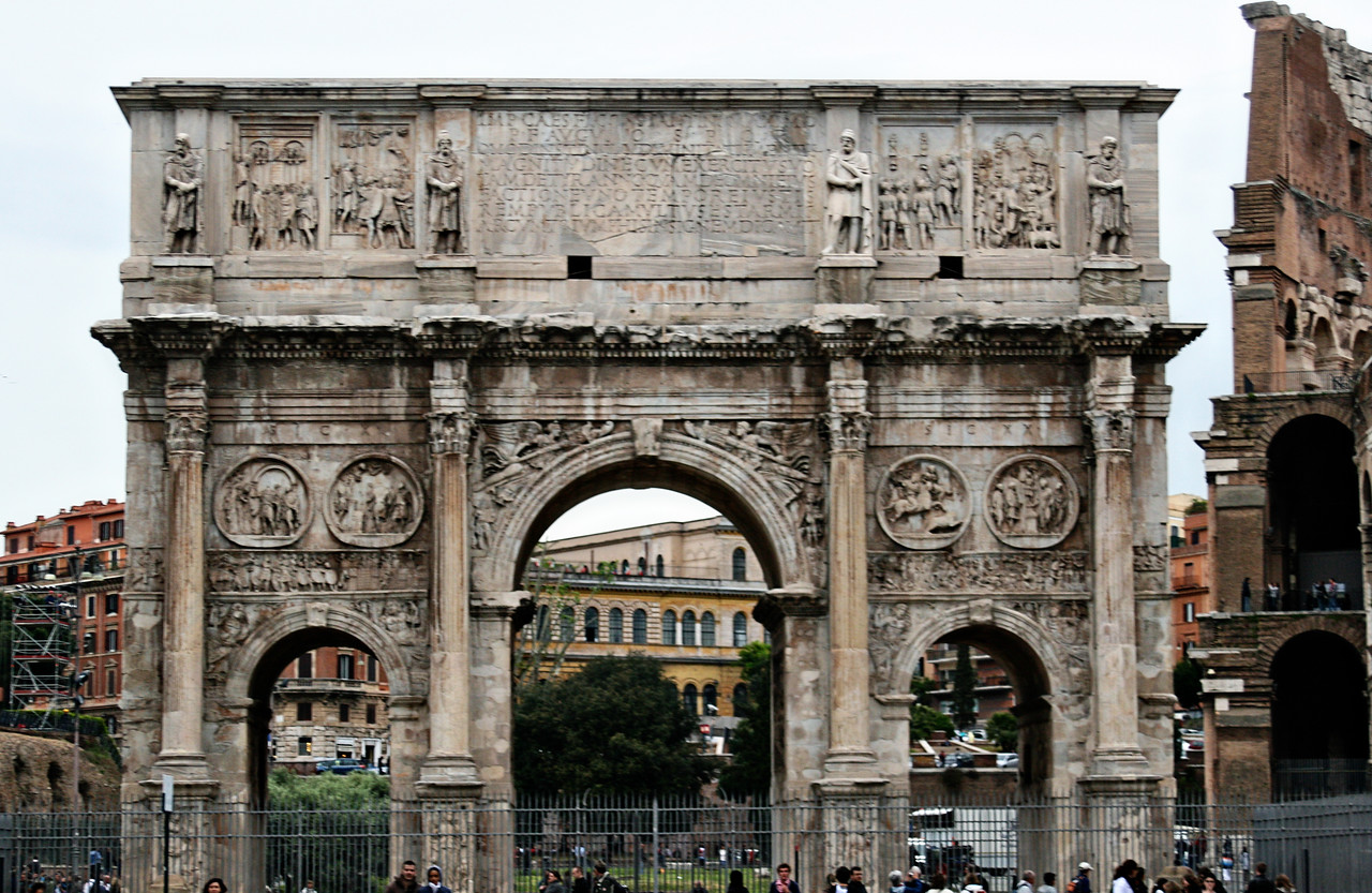 April 14, 2011 Arch of Constantine, Rome, Italy