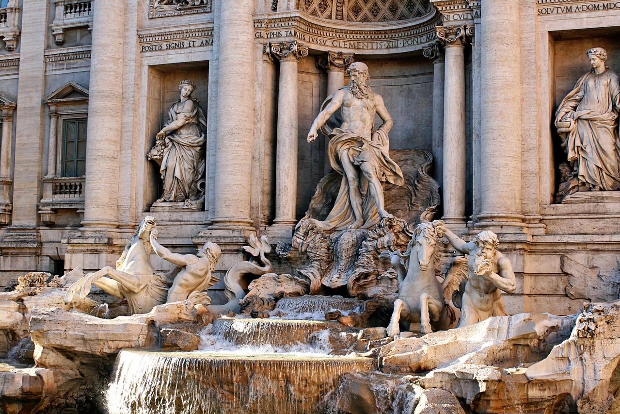 April 13, 2011 Tivoli fountain, Rome, Italy