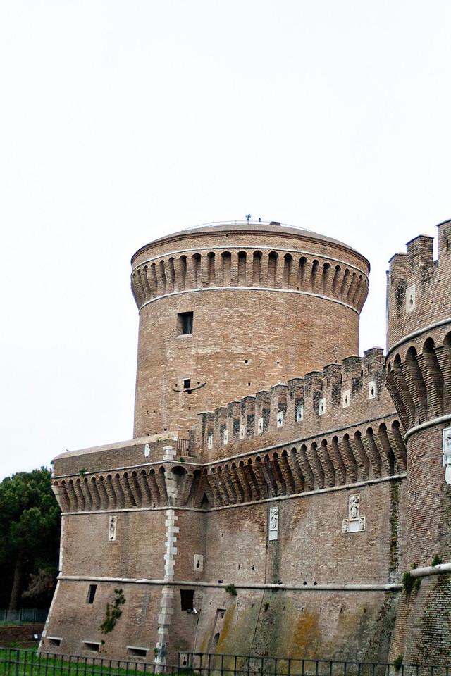 Castle outside of Ostia Antiqua