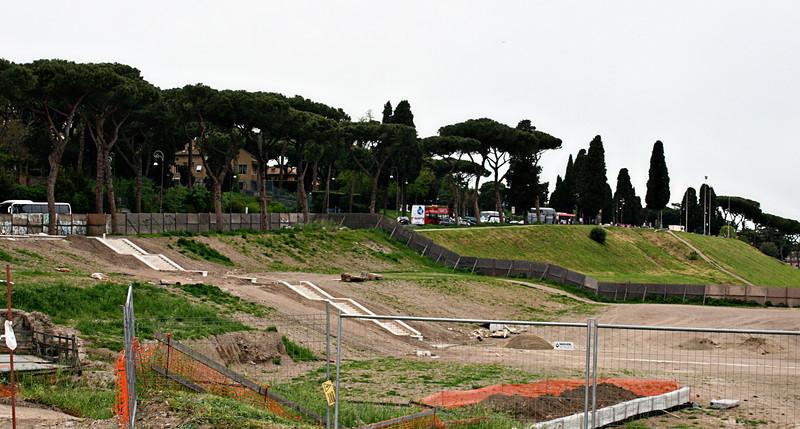 April 14, 2011 Rome, Italy  Circus Maximus, chariot races, etc.
