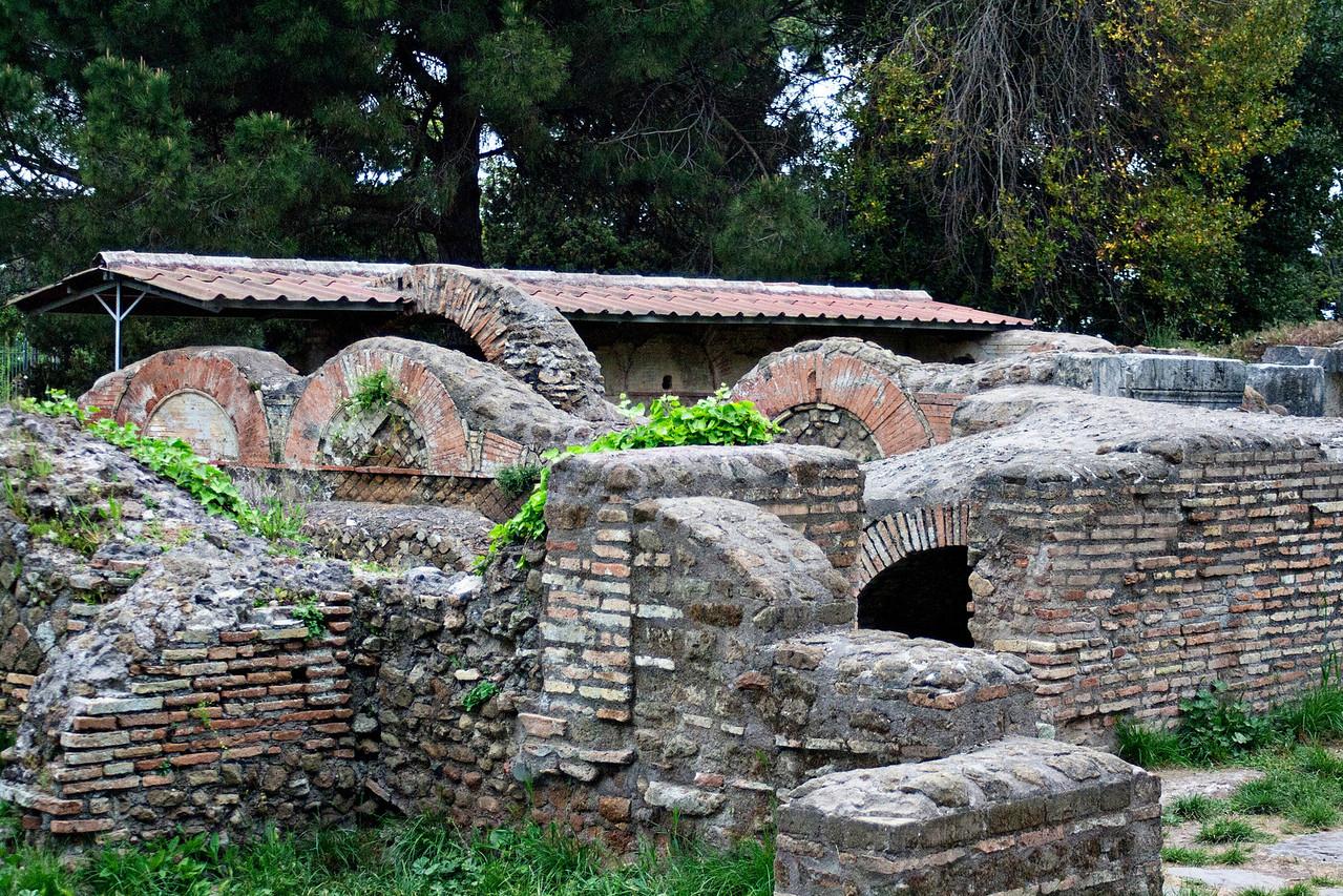 Ruins at Ostia