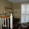 It is an elegant townhouse style, with the bedroom and full bath upstairs... we shall be quite comfortable here.