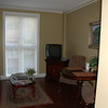 This is home for a week in a cute townhouse-type place in downtown Charleston.  The living room...