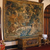 Tapestry in living room of Ringling summer house