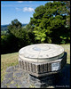 Mount Bedisloe lookout:<br /> <br /> This ceramic marker is on a peice of land given to the people of New Zealand by Lord Bedisloe who was the Governor-General of New Zealand. It is located aboutn 3 km from the Waitangi Treaty Grounds.  The marker shows the distance to major world cities, e.g. as can be seen in this photo, one can get to London by traveling 7833 miles through the center of the earth. It was presented to the people of New Zealand in 1934. <br /> <br /> November 17, 2011<br /> Haruru, NZ