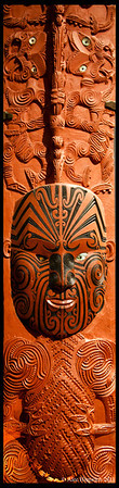Maori carving<br /> <br /> Auckland War Museaum<br /> Auckland, New Zealand<br /> 009